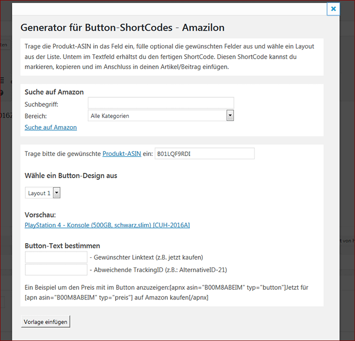 Amazilon Review - WordPress-Plugin für Amazon Affiliates
