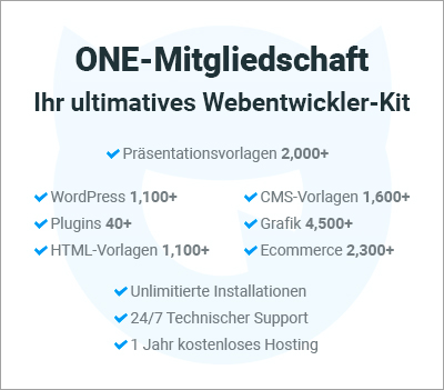 One by TemplateMonster - 10% Gutschein-Code