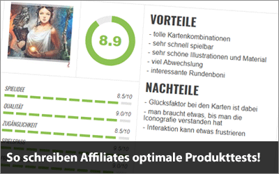 So schreiben Affiliates optimale Produkttests!